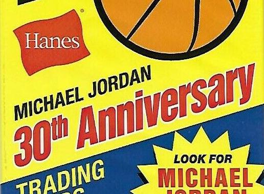2a6c274bf9ff 2018-19 Fleer Hanes Michael Jordan 30th Anniversary Basketball Cards ...