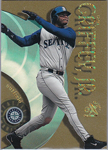 Ken Griffey Jr. 1999 E-X Century #17 Essential Credentials Future /104