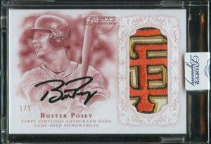 2015 Topps Dynasty Baseball Cards