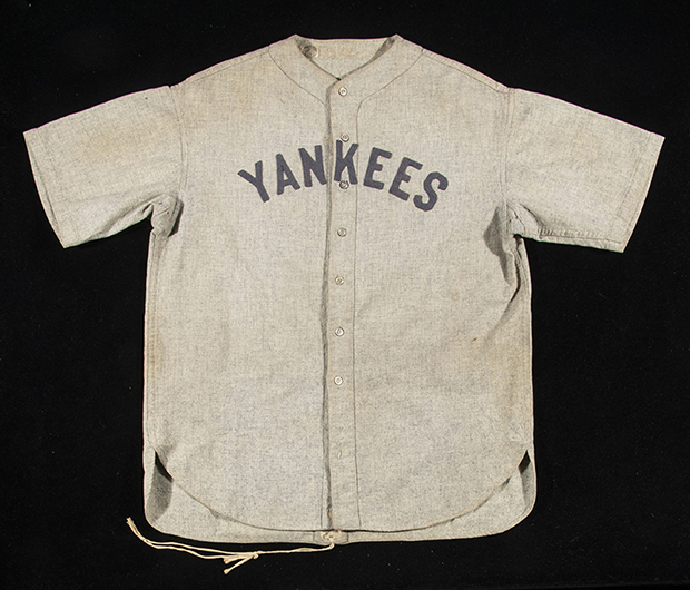 save off 317b1 0b9e2 1928-30-babe-ruth-new-york-yankees-road-jersey-hunt | The ...