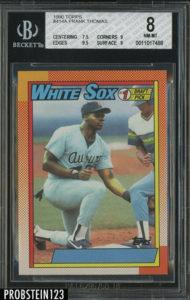 Frank Thomas 1990 Topps #414A (Counterfeit)