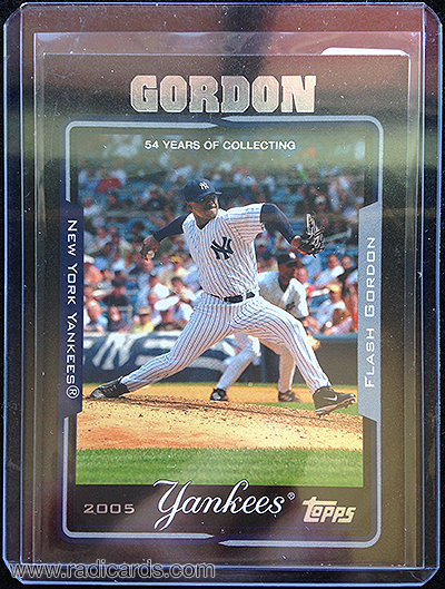 Flash Gordon 2005 Topps #98 Black /54