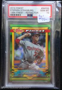 Stephen Strasburg 2014 Finest 94 Finest #94F-SS Refractor /25
