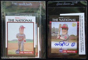 2019 NSCC Pristine Auction Mascot Trading Cards