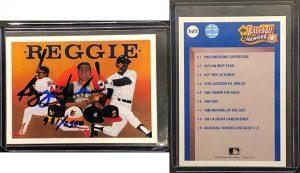 Reggie Jackson 1990 Upper Deck Heroes #9