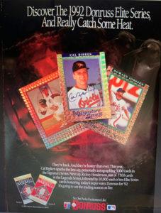1992 Donruss Elite Print Ad