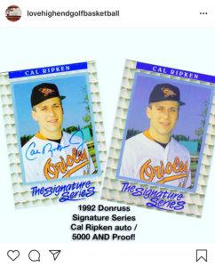 Cal Ripken Jr. 1992 Donruss Elite
