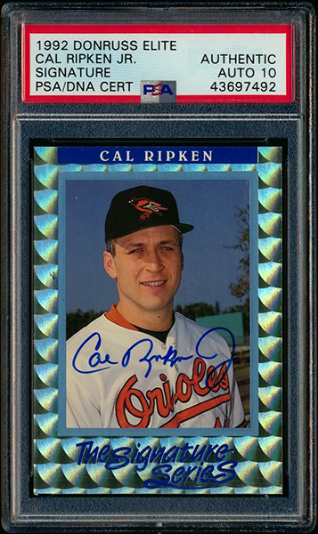 Cal Ripken Jr. 1992 Donruss Elite #S2 /5000
