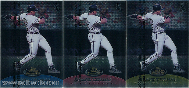 1999 Finest Team Finest Baseball Cards