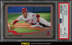 Mike Trout 2013 Topps #27 Platinum /1