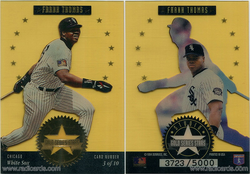 Frank Thomas 1994 Studio Series Stars #3 Gold