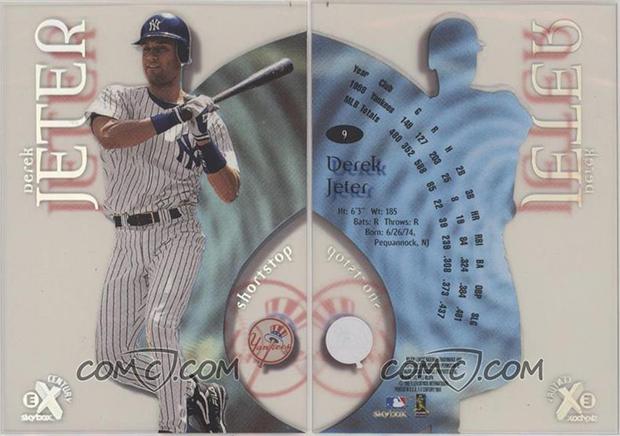Derek Jeter 1999 E-X Century #9