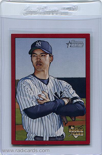 Kei Igawa 2007 Bowman Heritage #229b Red /1