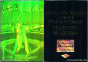 Frank Thomas 1992 Arena Hologram Prototype