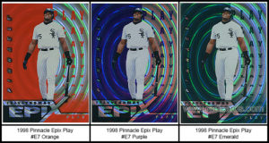 1998 Pinnacle Epix Play