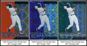 1998 Pinnacle Plus All-Star Epix
