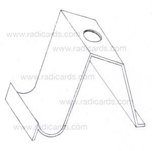 Branded Card Stand: Raw Blueprint v2