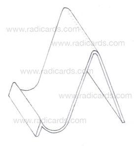 Branded Card Stand: Raw Blueprint v3