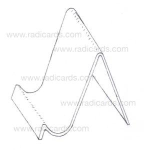 Branded Card Stand: Raw Blueprint v4