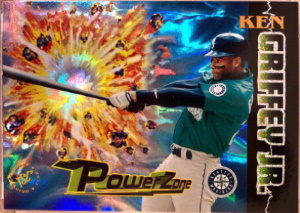 Ken Griffey, Jr. 1995 Stadium Club Power Zone #PZ7