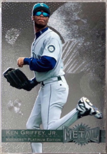 Ken Griffey, Jr. 1996 Metal Universe #107 Platinum Edition