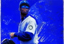Ken Griffey, Jr. 1996 Metal Universe #107 Platinum Edition Custom Featured Image