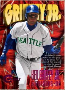 Ken Griffey, Jr. 1997 Circa #24 Rave