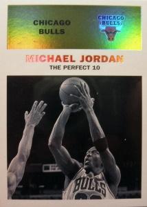 Michael Jordan 1998-99 Fleer #142c Classic '61 /61