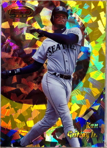 Ken Griffey, Jr. 1998 Bowman's Best #27 Atomic Refractor /100