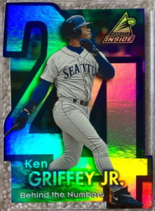 Ken Griffey, Jr. 1998 Pinnacle Inside Behind the Numbers #1