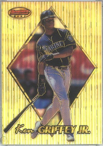 Ken Griffey, Jr. 1999 Bowman's Best #80 Atomic Refractor /100