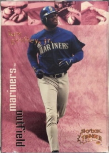 Ken Griffey, Jr. 1999 Skybox Thunder #292 Super Rave /25