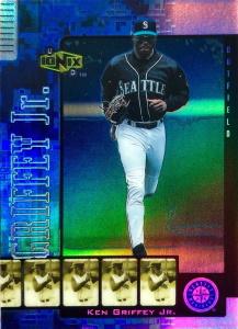 Ken Griffey, Jr. 2000 Ionix #R29 Reciprocal