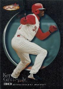 Ken Griffey, Jr. 2001 Fleer Futures #79 Black Gold /499