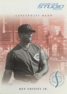 Ken Griffey, Jr. 2005 Studio #83 Proof Platinum /10