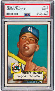 Mickey Mantle 1952 Topps #311