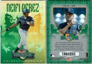 Neifi Perez 1998 Donruss Crusade #69 Green /250