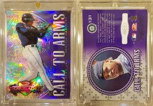 Ken Griffey Jr. 1998 Donruss Crusade #131 Purple Unreleased CTA