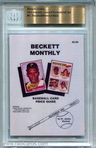 2013 Beckett Covers Industry Summit Promotional Set Baseball/Blowout Back #1C /50