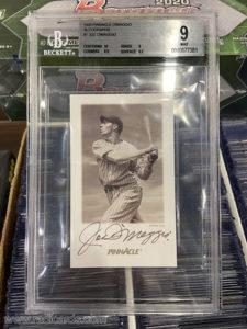Joe DiMaggio 1993 Pinnacle DiMaggio Autographs #1