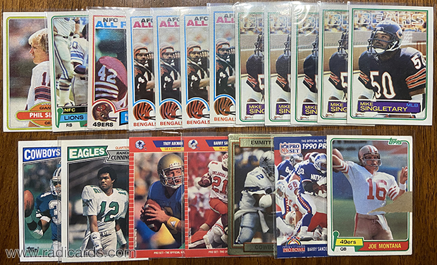 Dallas Card Show | Football Pickups