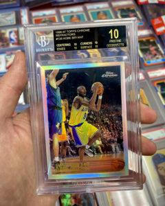 Kobe Bryant 1996-97 Topps Chrome #138 Refractor BGS 10 Black Label