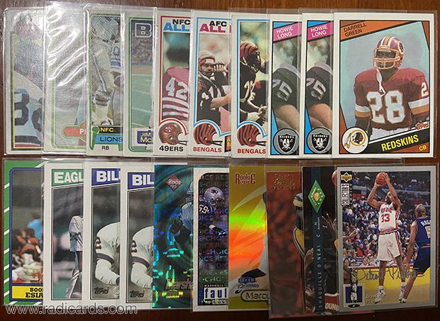 Dallas Card Show | Basketball & Football Pickups