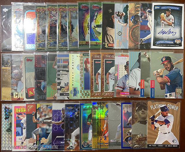 Dallas Card Show | 1990s Inserts and Other Stuff