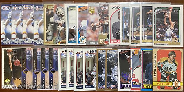 Dallas Card Show   Basketball, Football, and Hockey Pickups