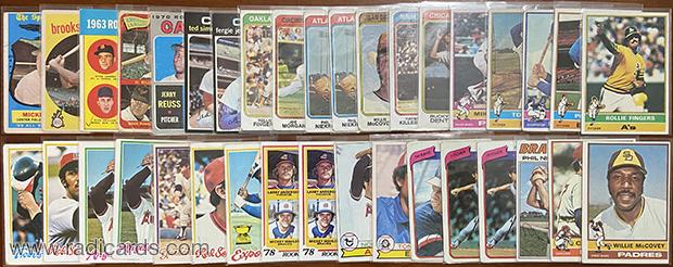 Dallas Card Show   Vintage Pickups