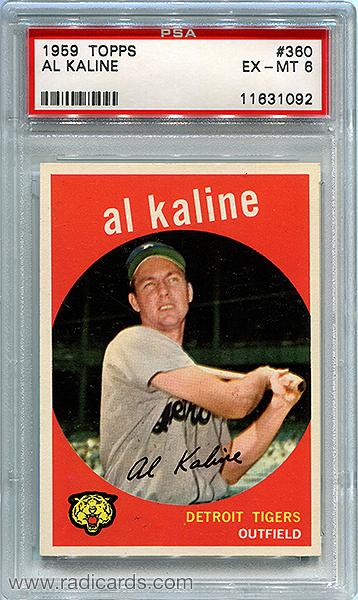Al Kaline 1959 Topps #360