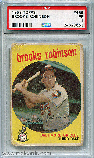 Brooks Robinson 1959 Topps #439