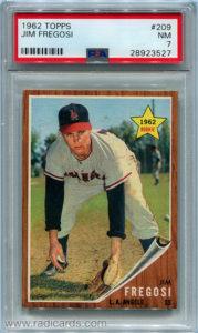 Jim Fregosi 1962 Topps #207