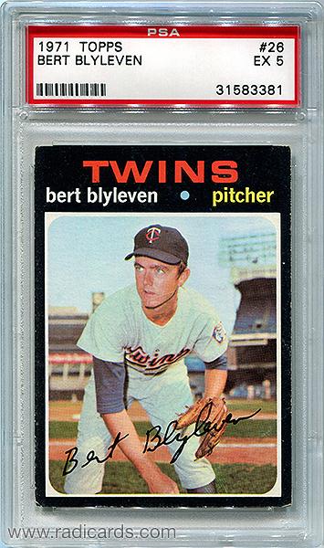 Bert Blyleven 1971 Topps #26